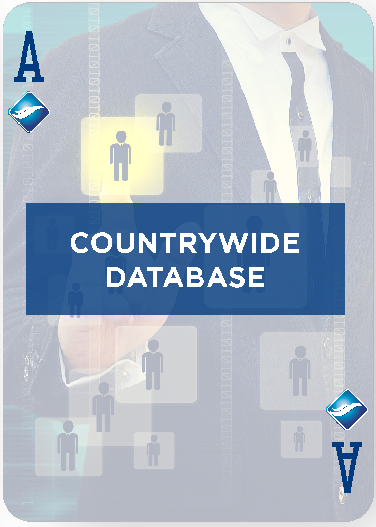 Countrywide database